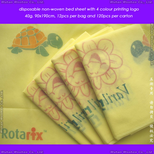 Nonwoven/PP/SMS/Surgical/Hospital/CPE/PE/PVC/Comforter/Duvet/Pillow Case/Mattress/Medical Disposable Bed Sheet/Bedspread, Disposable Quilt, Disposable Bed Cover
