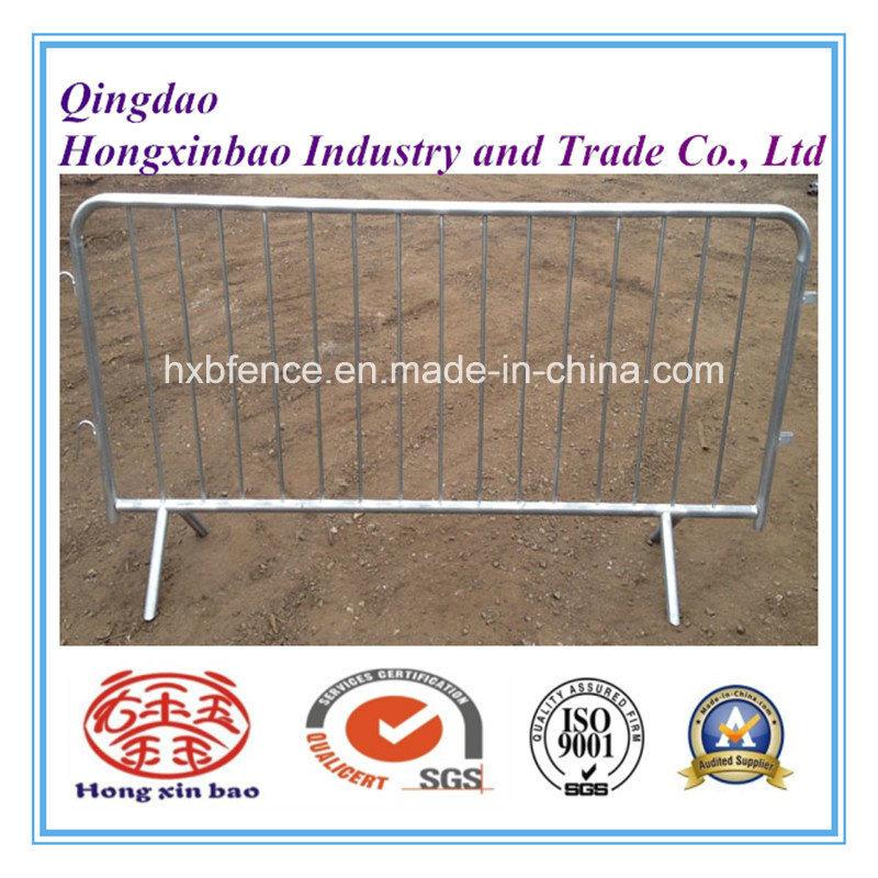 Outdoor Galvanized Barrier/Pedestrian Traffic Barrier/Galvanized Temporary Fence