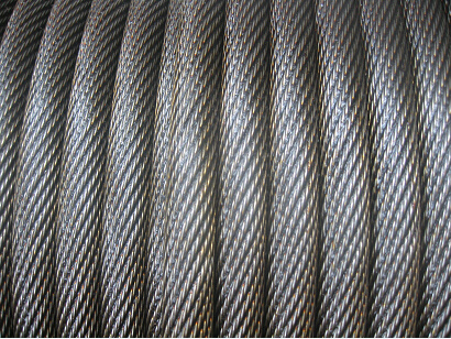 Non-Roating Black Wire Rope Coat Oil Made in China