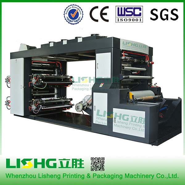 4 Color High Speed Flexo Printing Machine