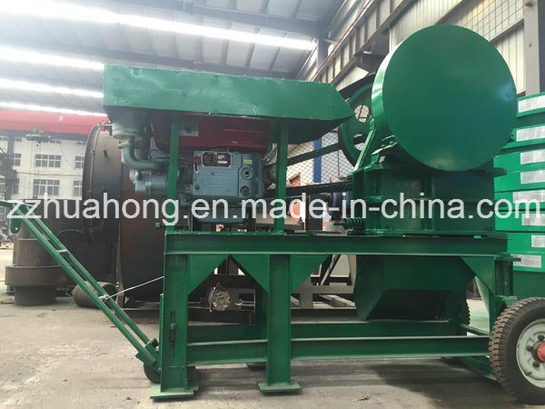 Mining Used Mobile Stone Jaw Crusher