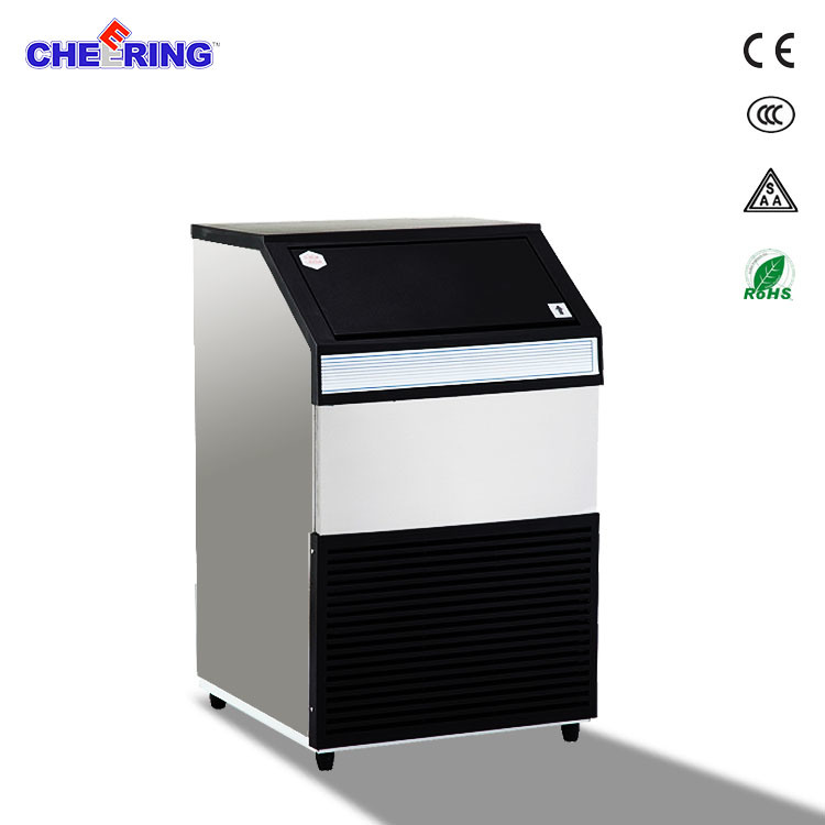 Stainless Steel Commercial Restaurant Industrial Square Ice Maker Cube Machine