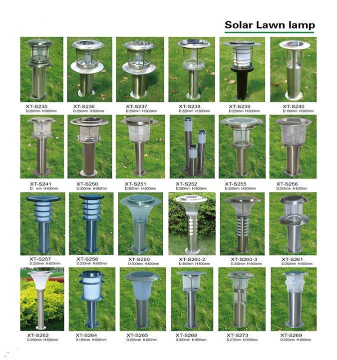Durable Solar LED Lawn Garden Yard Light