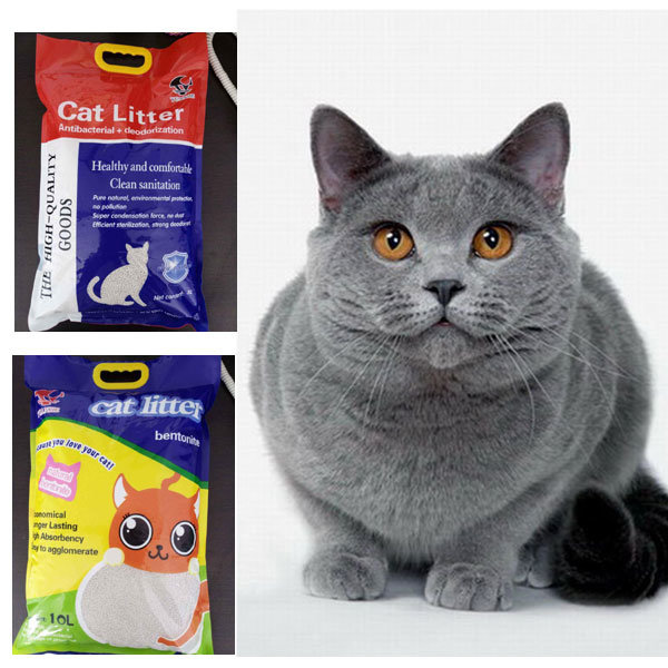Eco-Friendly Products Natural White Dust Free Bentonite Cat Litter #19