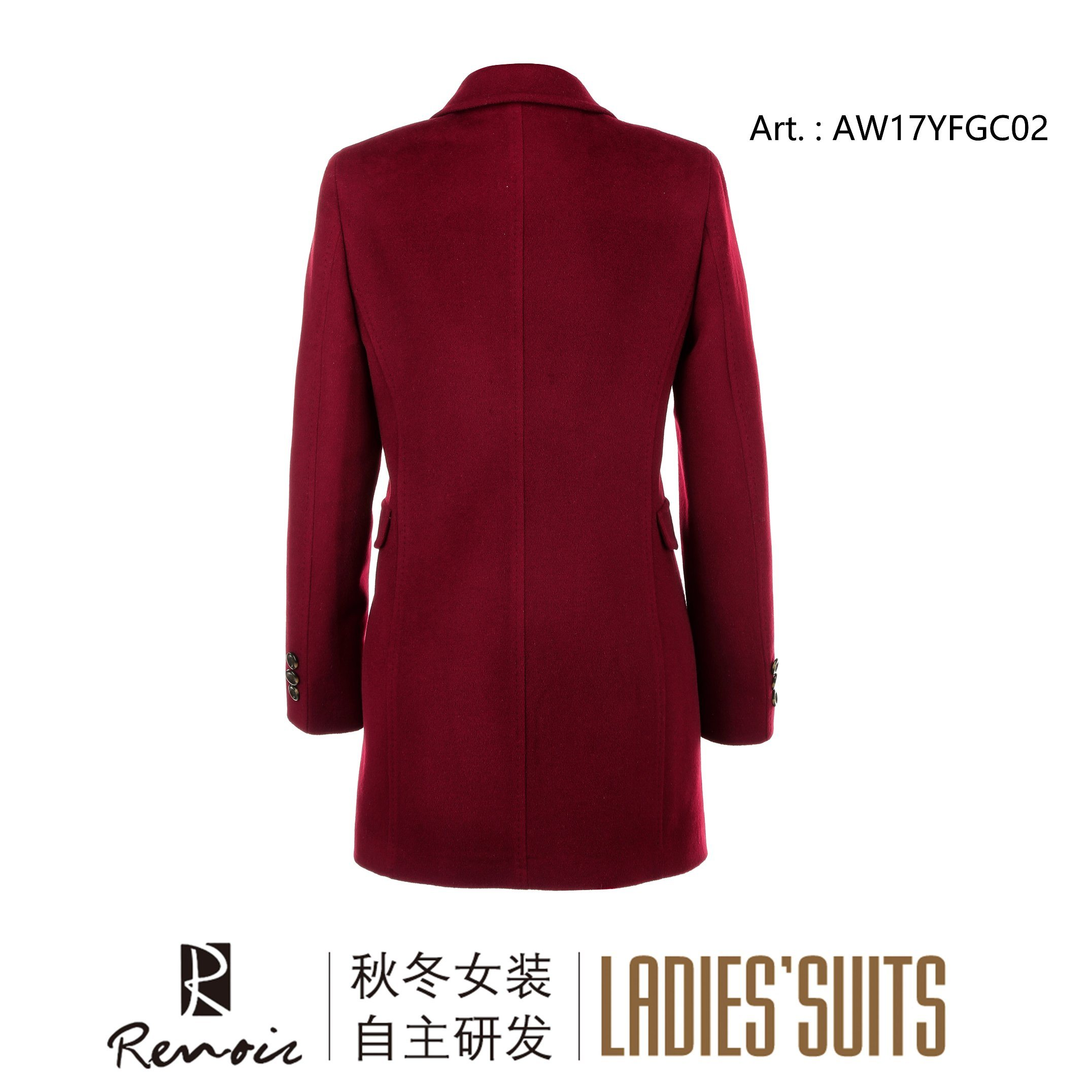 OEM Winter Long Women′s Dust Coat