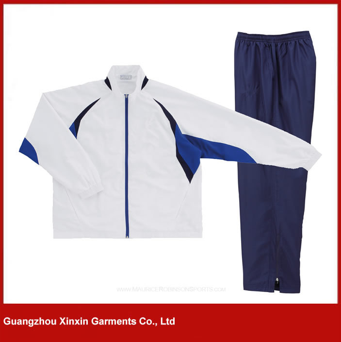 Custom Cheap Polyester Sport Track Suit Wear for Men (T11)