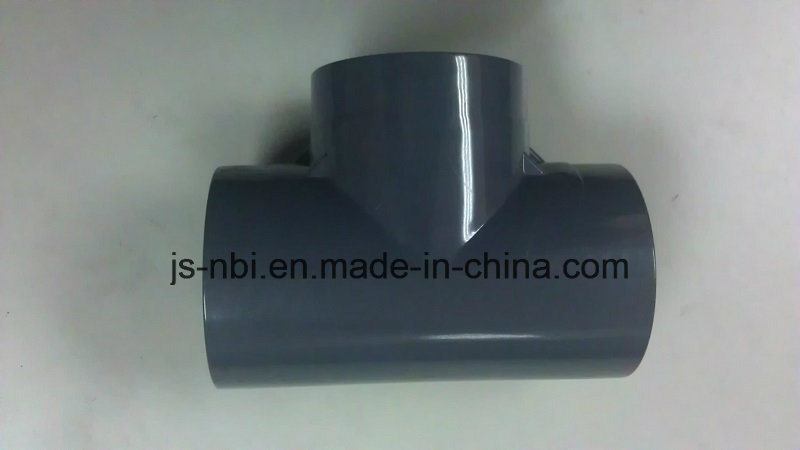 Grey PVC Pipe Fitting -Tee Joint