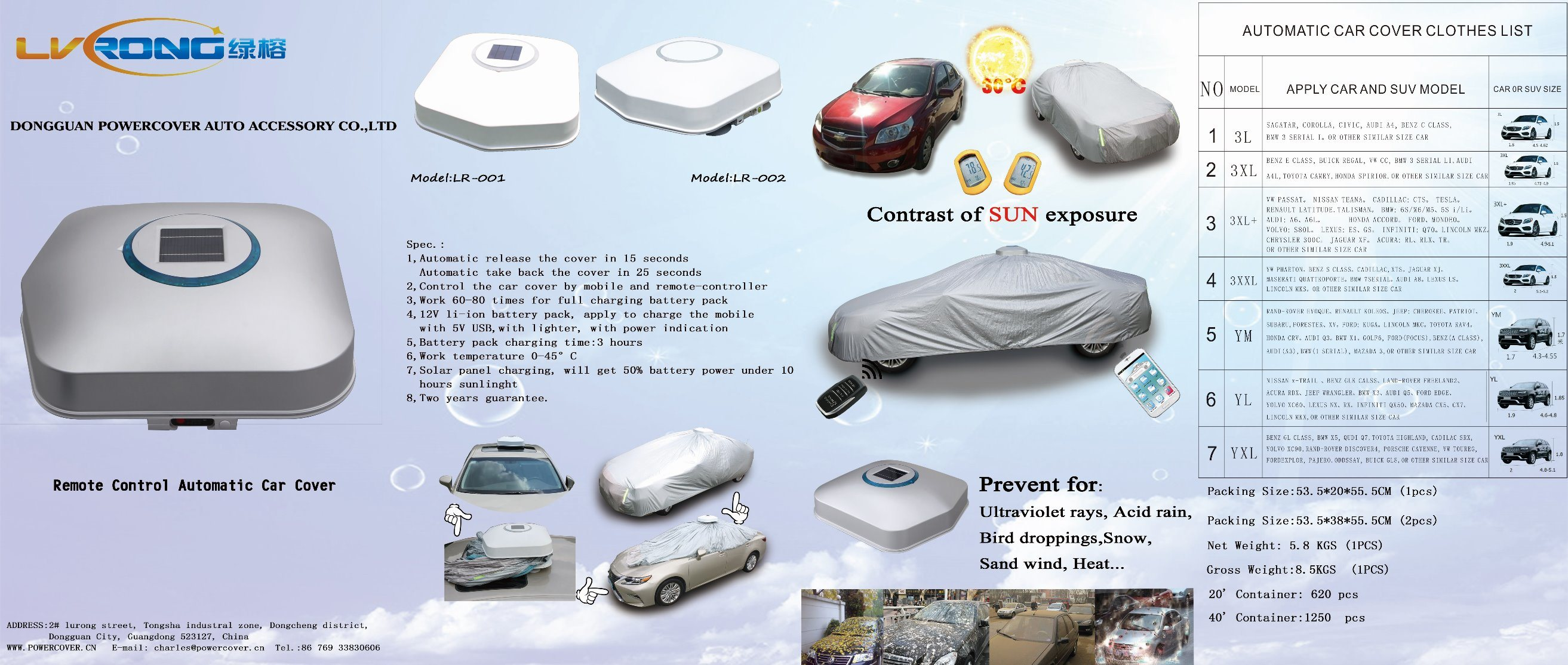 Automatic Car Cover for BMW Car Cover