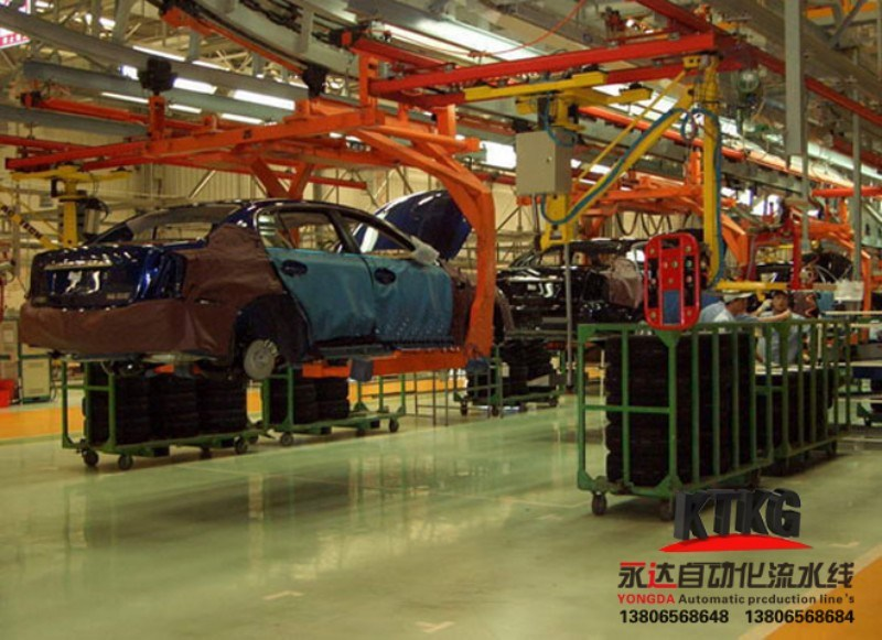 Auto Car Assembly Production Line