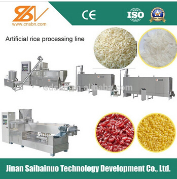 Artificial Nutritional Rice Processing Line/Making Machine/Machinery