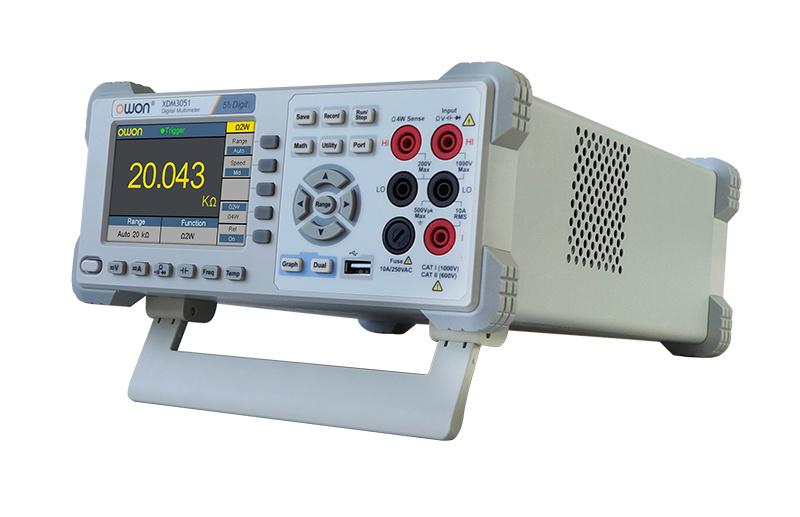 OWON 5 1/2 Bits True RMS Wi-Fi Benchtop Multimeter (XDM3051)