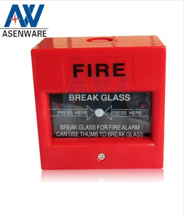 Asenware Conventional Alarm System Fire Break Glass