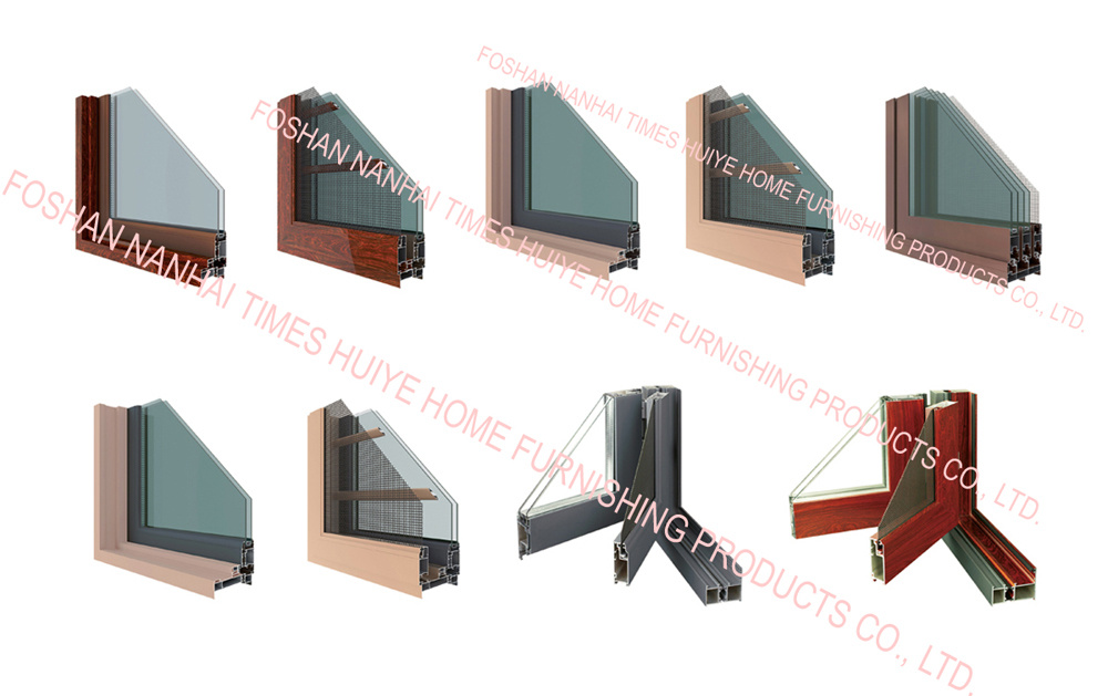 New Design New Color Aluminium Casement Windows