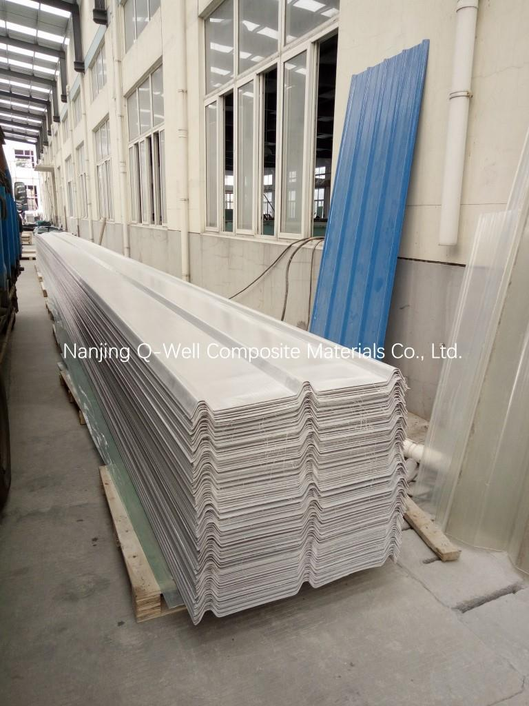 FRP Panel Corrugated Fiberglass/Fiber Glass Color Roofing Panels C172001