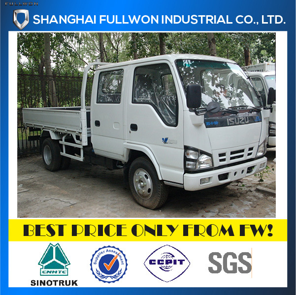 Isuzu Light Duty 600p Double Row Payload 2-4 Ton Cargo Truck