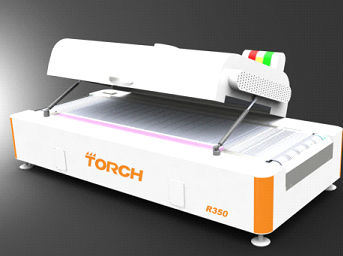 Torch Cheaper SMT/LED Mini Desktop Conveyor Reflow Oven R350 with 12 Zones