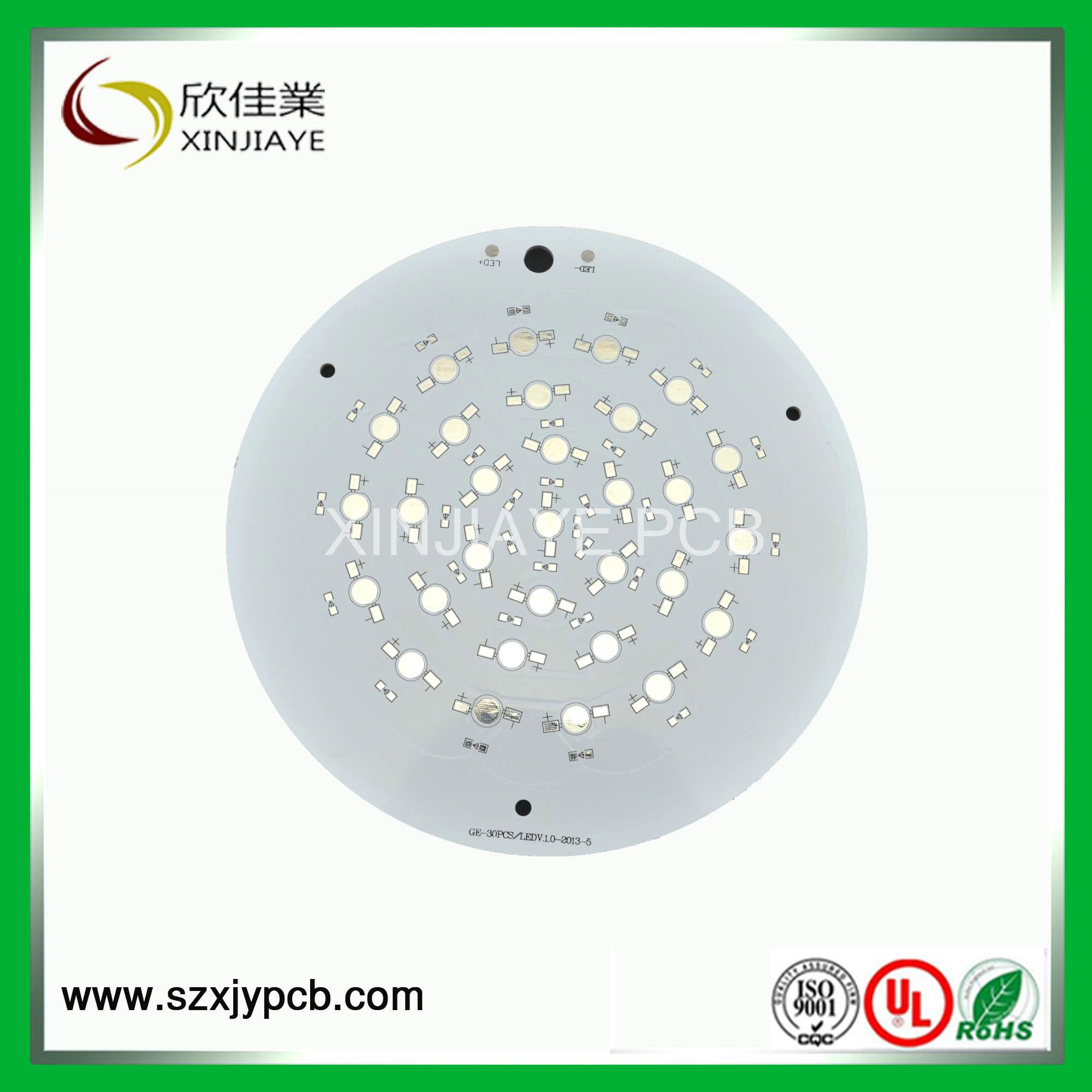 PCB Single Layer, LED Aluminum PCB