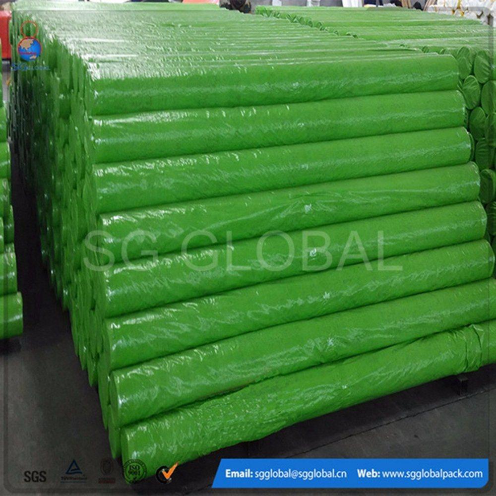 Width 2.44meter Chinese Green PE Tarpaulin