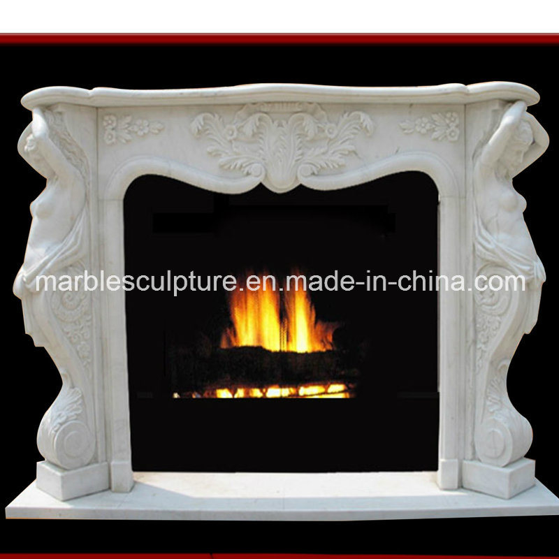 Stone Sculpture Marble Fireplace Surround (SY-MF027)