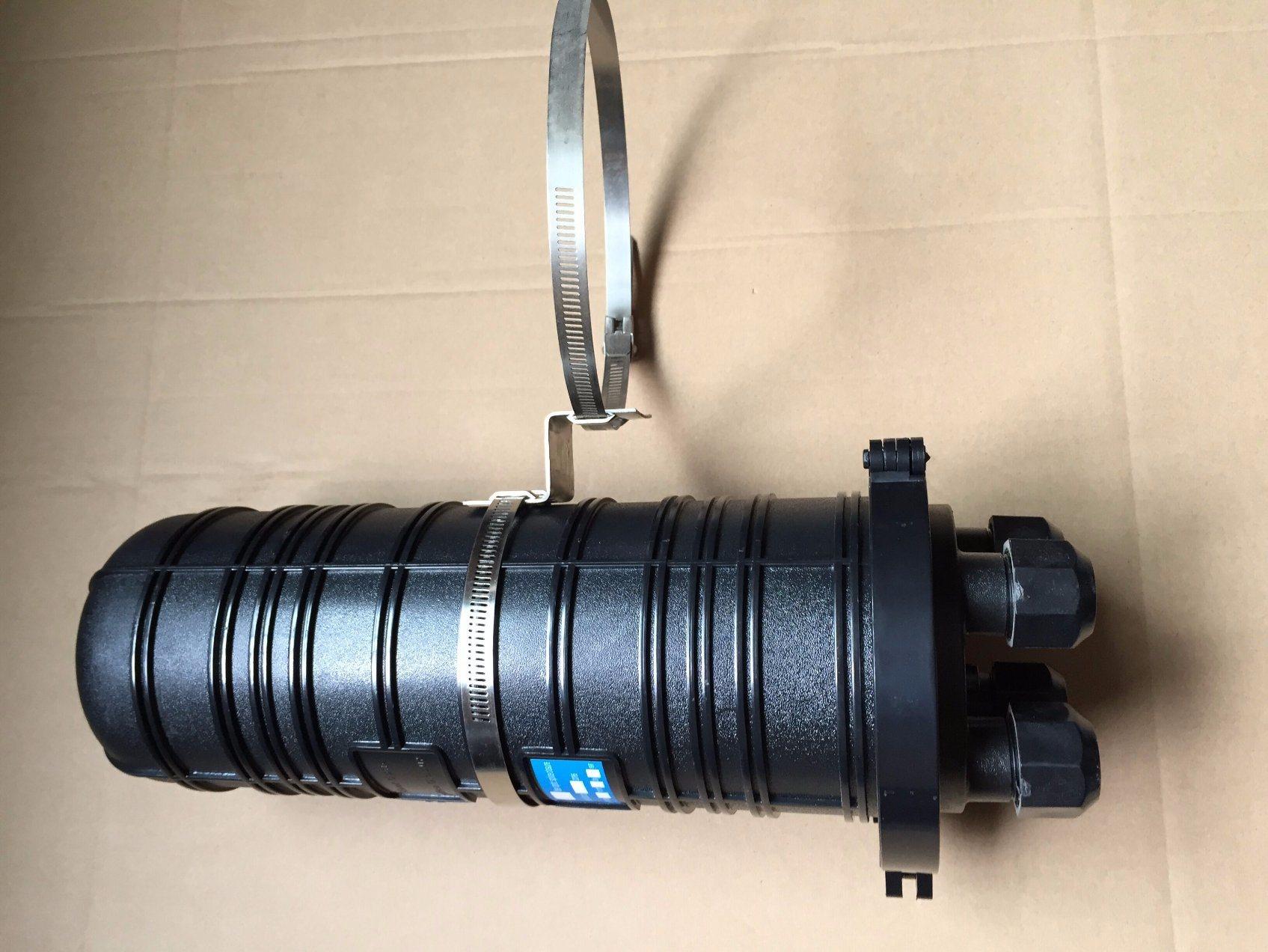 Dome Vertical Type Optical Splice Closure Fiber Optic Enclosure