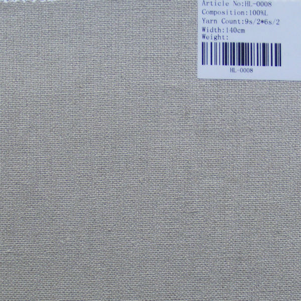 High Quality Pure Linen Fabric