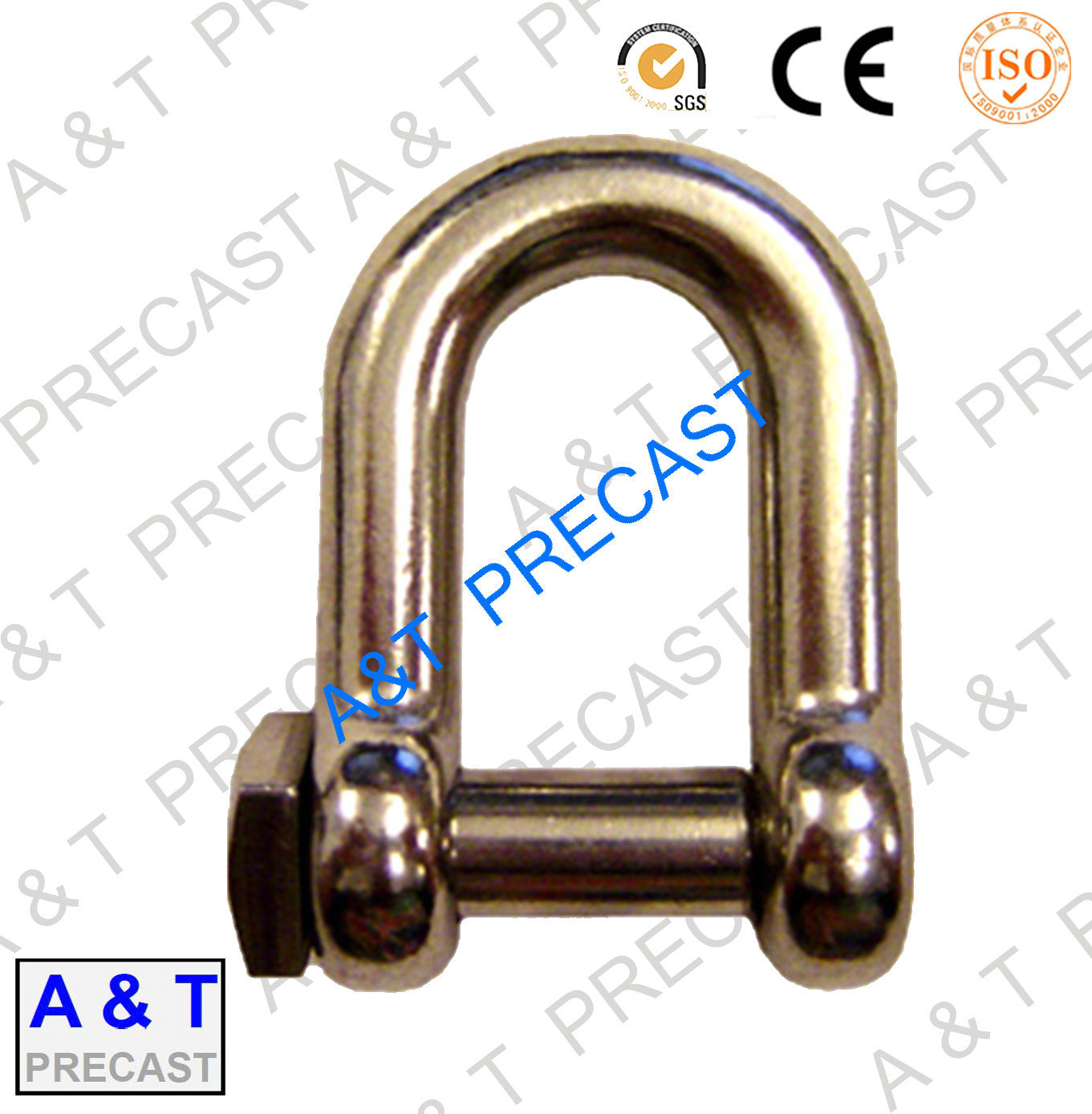 Hot Dipped Galvanized High Strength Green Pin Chain Shackle