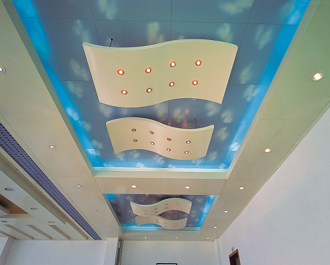 Metal Ceiling: Non-Standard Shaped