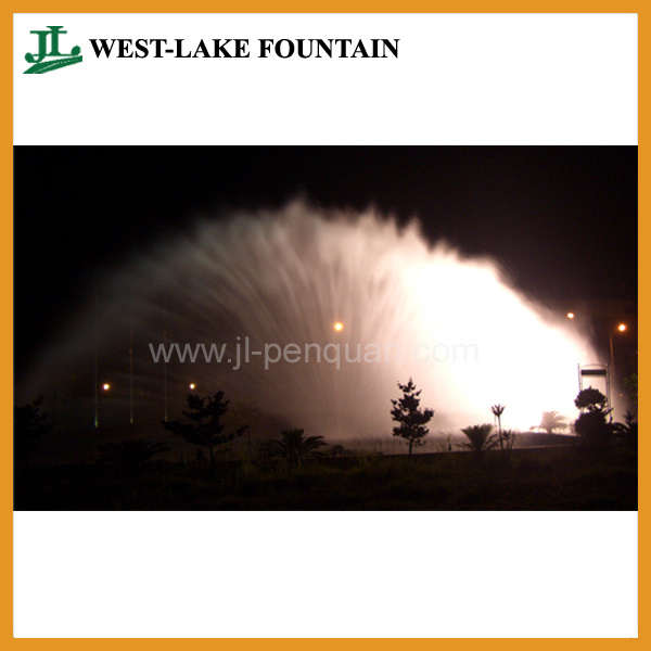 Water Screen Fountain for Movie, Video, Picture, Laser Projection
