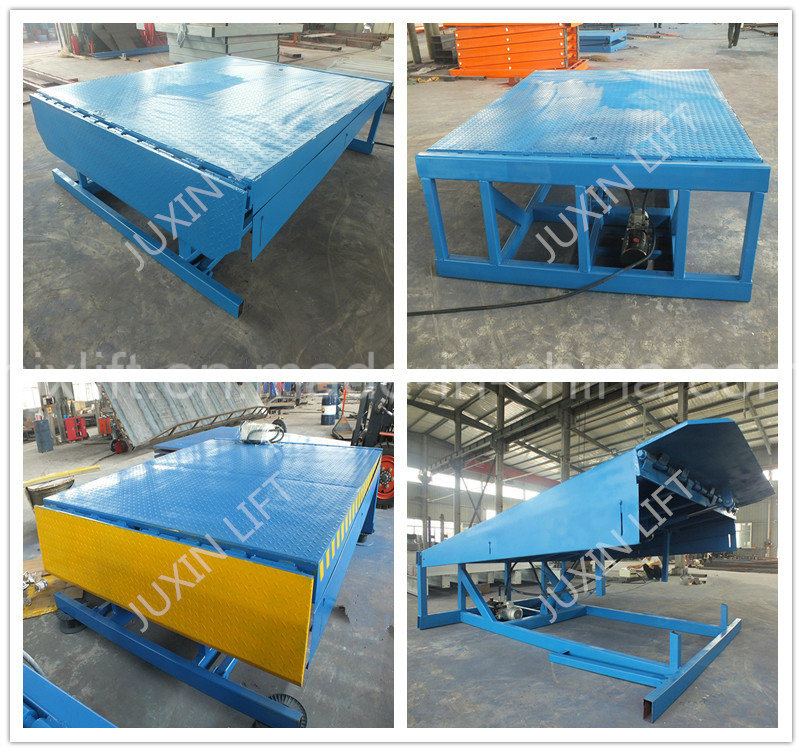 6 Ton Warehouse Used Electric Stationary Dock Leveller
