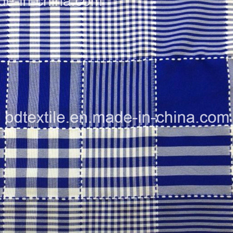 Bd Textile 100 % Polyester Mini Matt Jacquard Fabric for Garment