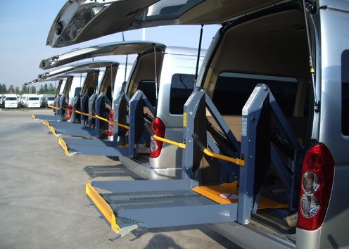 Auto Accessory Wheelchair Lifts, ISO/Ts 16949