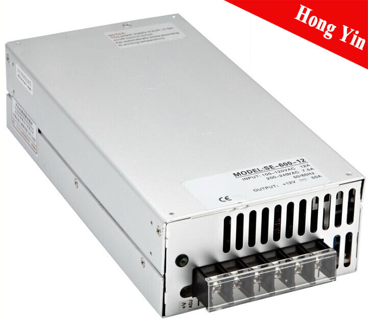 China 600W Single Output Se-600-5 Enclosed Switching Power Supply