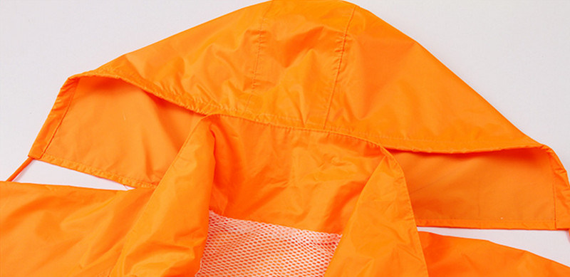 Reflective Work Clothes Sanitation Long Sleeves Cleaning Servic Road Railway Construction Rain Clothes