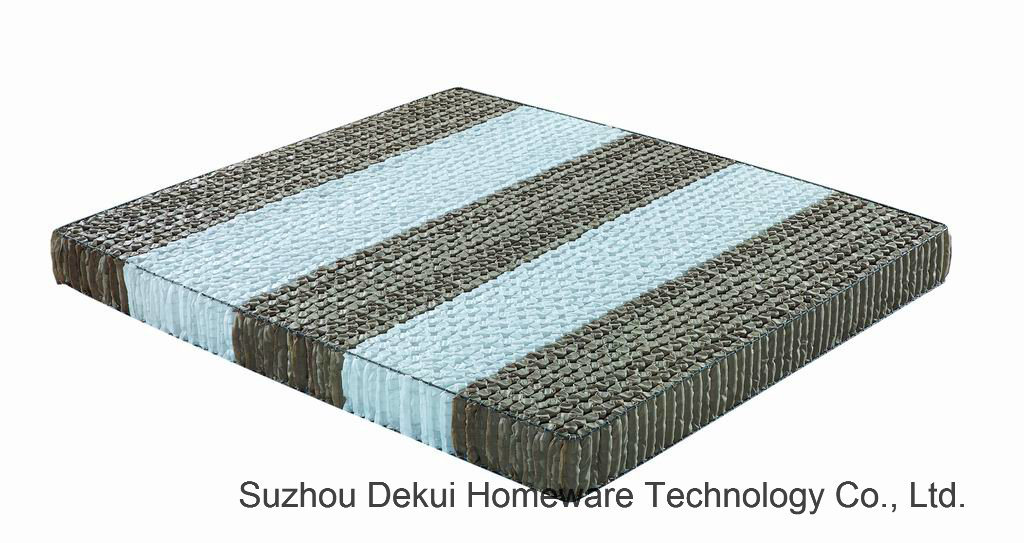 Partition Pocket Spring Mattress Double Sectional Innerspring Unit for Mattress
