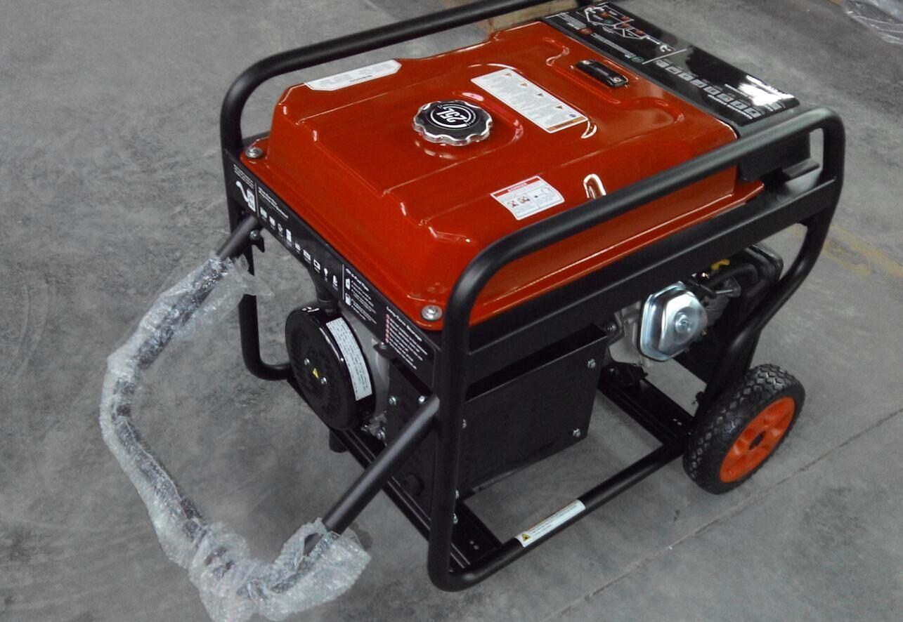 Fusinda 5kw Electric Gasoline Generator with Handle and Big Wheels