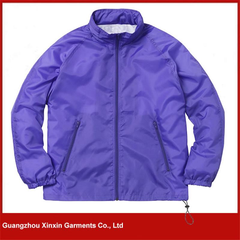 Custom Printed Cheap Light Weight Advertising Jacket Coat (J166)