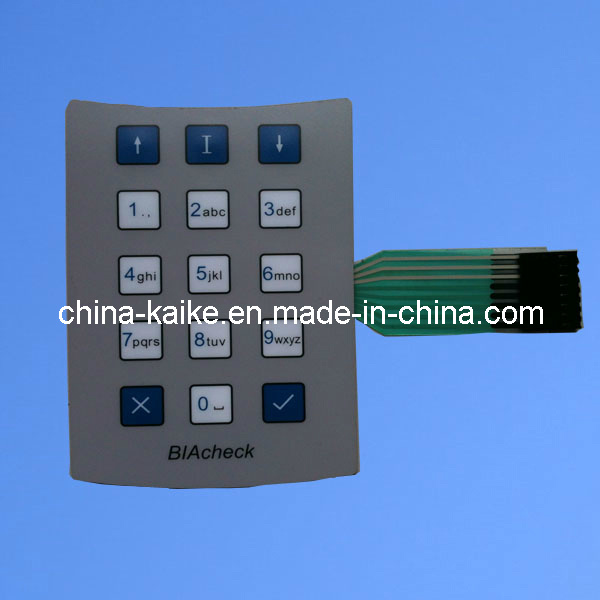 Customized Membrane Switch Keypad with LED (001)