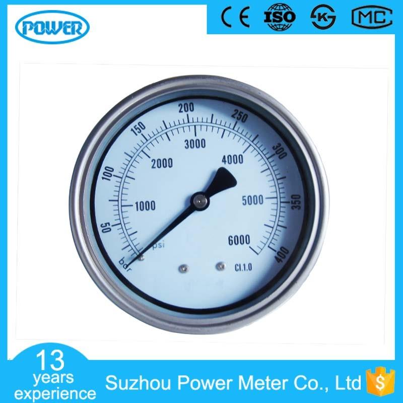 100mm All Stainless Steel Dry Type Pressure Gauge
