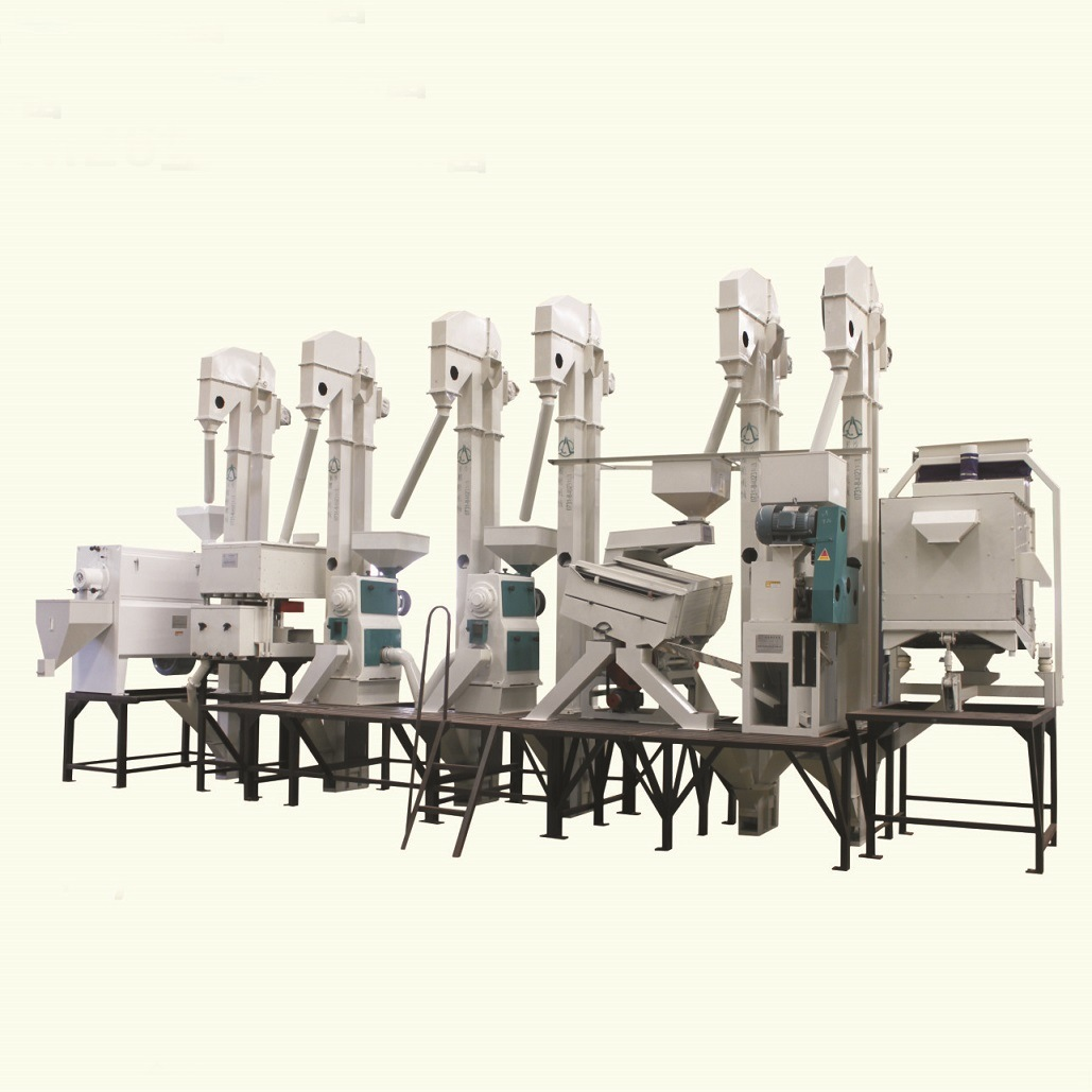 Complete Set of Rice Processing Equipment (Model CTNM26)