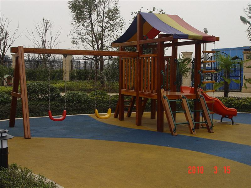 Wood House of Playground