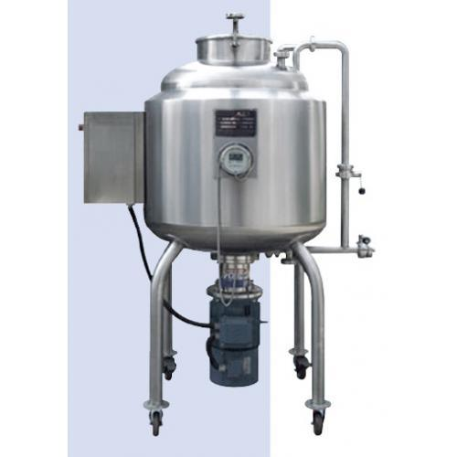 Stainless Steel Vacuum High Speed High Shear Emulsifier Mixing Tank