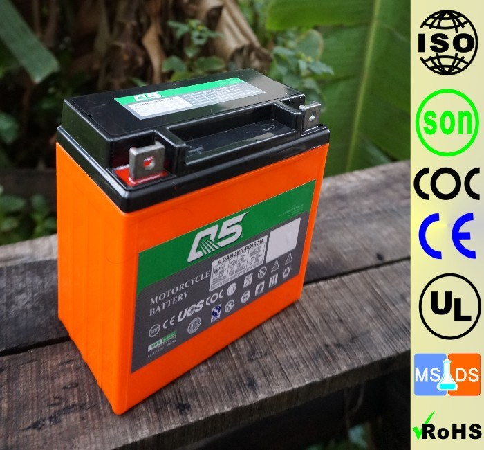 YT7 YT7E(YB7 YB7L 12N7) 12V7AH High Starting Performance AGM Sealed maintenance free lead acid motorcycle battery