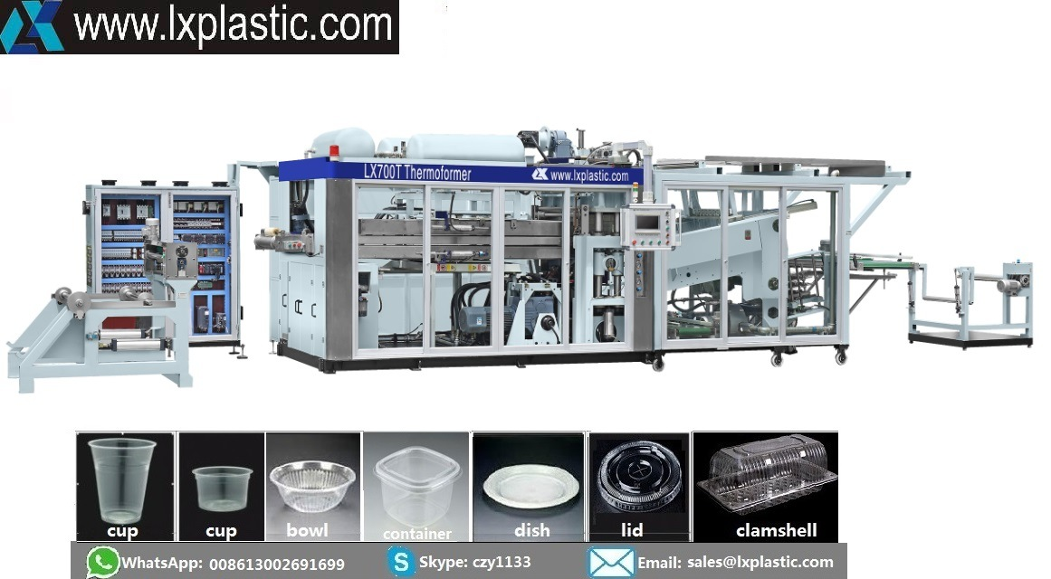 Tilting Cup Thermoforming Machine