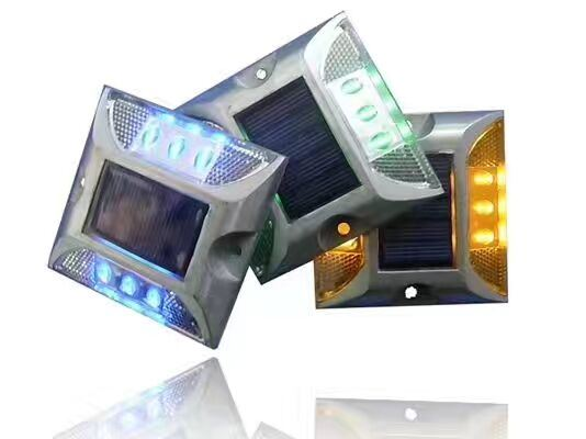 Factory Original 75mm Height Solar LED Road Stud with Two Side Lights