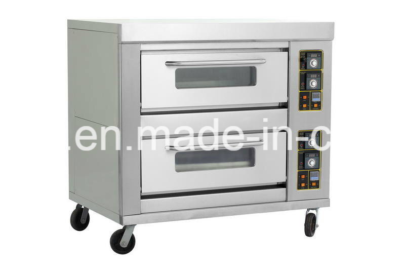 Single Layer One Tray Gas/Electric Oven for Baking