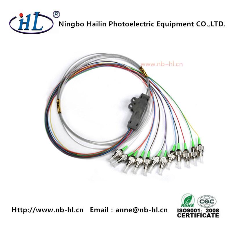 FC/APC Single Mode Low Insertion Loss Fiber Optic Pigtail