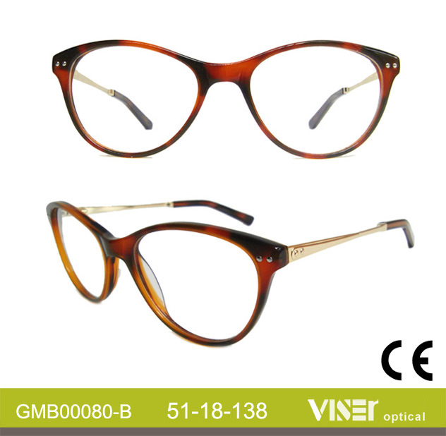 Fashion Acetate Glasses, Optical Frames Eyeglass Frames, Glasses Optical (80-A)