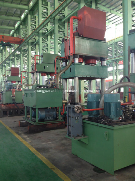 Folding Machine Four Column Hydraulic Press Y32-630t