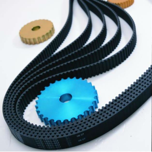 High Quality Rubber Timing Belt with ISO Certified