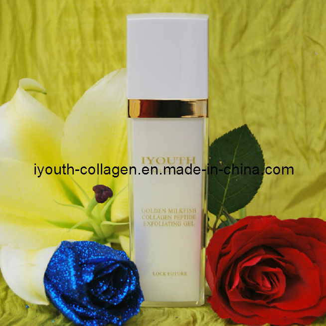 GMP, Top Collagen, 100% Natural Fish Collagen, Golden Milkfish Collagen Peptide Exfoliating Gel
